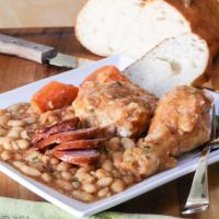 Fabulous French Cassoulet #SundaySupper