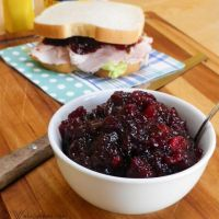 Ruby Port Cranberry Sauce #SundaySupper