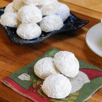 Russian Tea Cakes #TwelveDaysofSanta