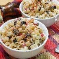 Mom's Classic Macaroni Salad #SundaySupper