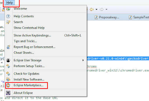 install TestNG framework in Eclipse for Selenium Webdriver