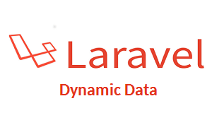 laravel dynamic data
