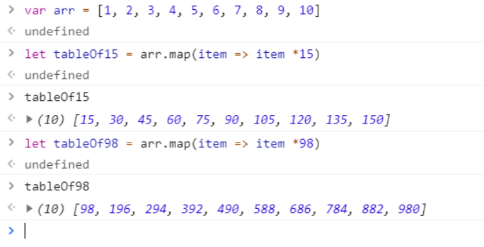 array javascript-code6