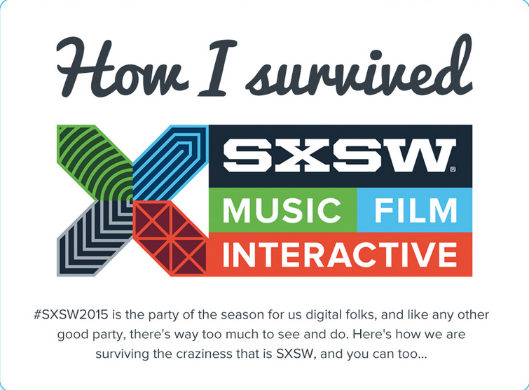 How I Survived SXSW