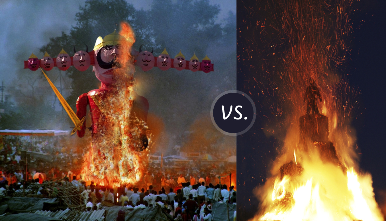 Burning Man VS. Dussehra