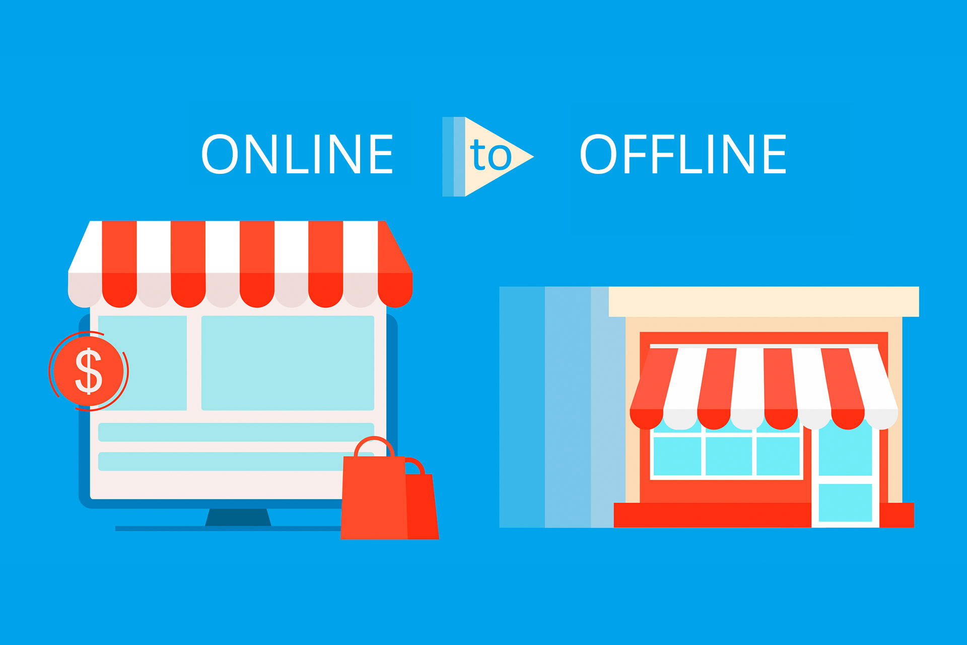 O2O for A Better Chemistry between Online and Offline Retail Stores