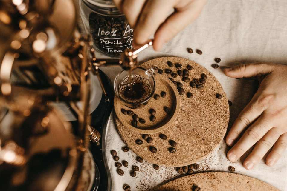 torréfaction et dégustation café