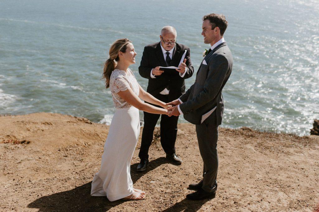 glen oaks big sur elopement, big sur beach wedding