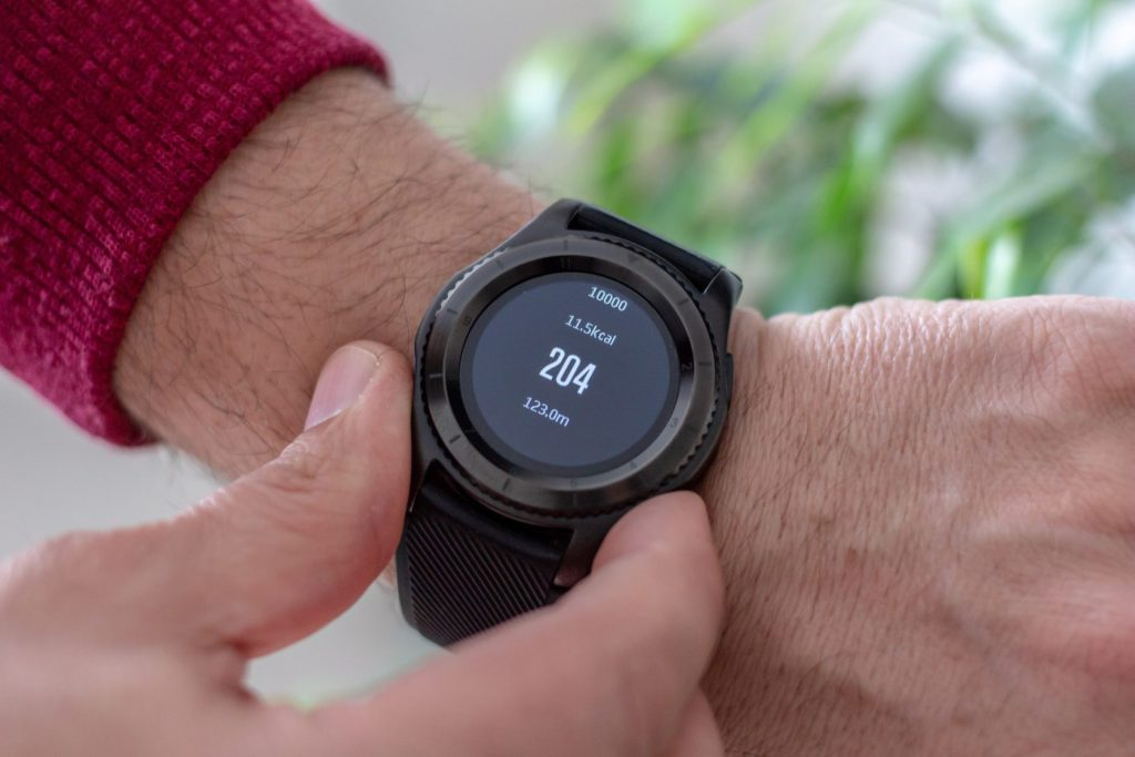 Wrist monitor to keep an eye on your heart rate when exercising