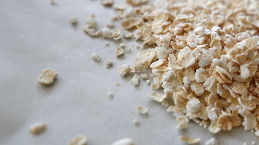 oats to make flour
