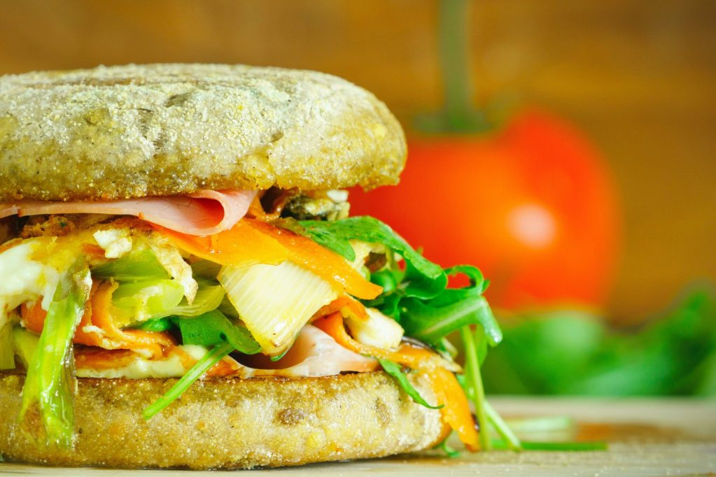 sandwich with vegetables for weight loss
