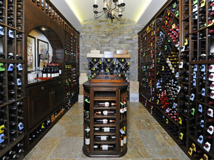 68 Birch Lane Greenwich Real Estate Sothebys Edward Mortimer - wine cellar