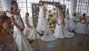 Vera Wang, Naeem Khan among New York bridal week highlights