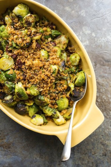 COOKING ON DEADLINE: Pan-Roasted Brussels Sprouts
