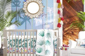 RIGHT AT HOME: Nurseries worthy of a Bohemian lullaby