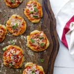 COOKING ON DEADLINE: Mini Pizzas