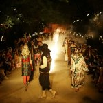 Death and glitter: Gucci hosts France show in Roman ruins