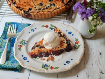 A blueberry tart that simply works, so you don't have to