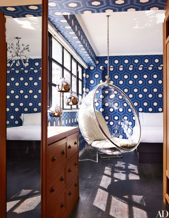 Architectural Digest Bubble Chairs