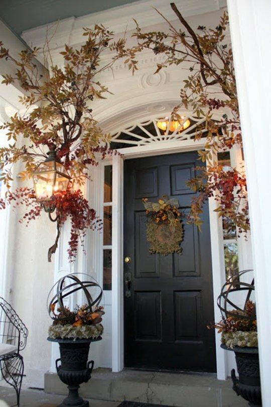 Autumn Thanksgiving Door Decoration
