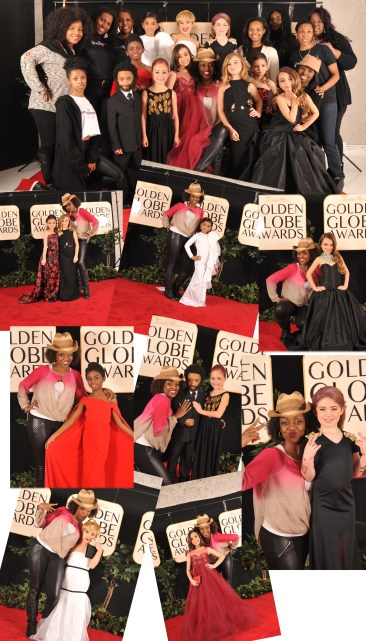 Kids Take On Golden Globe Fashion!