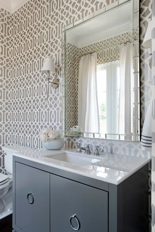 Imperial Trellis Wallpaper By Schumacher The Well Appointed House Blog Living The Well