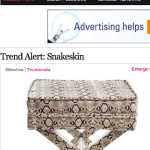 Snakeskin Trend Spotted on Elle Decor.com