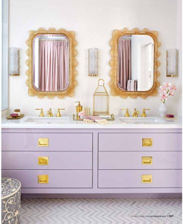Bathroom Inspiration: 15 Bathroom Looks We Love