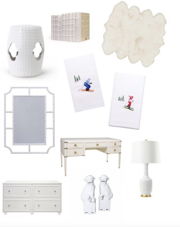 Winter White Decor