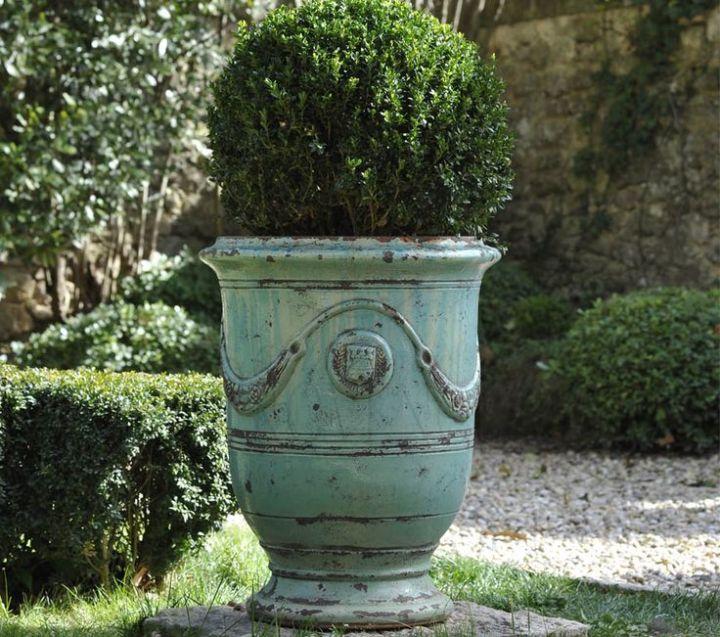 anduze pot turquoise