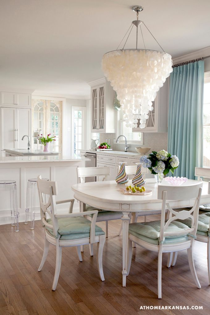Capiz Shell Chandeliers The Well Appointed House Blog Living