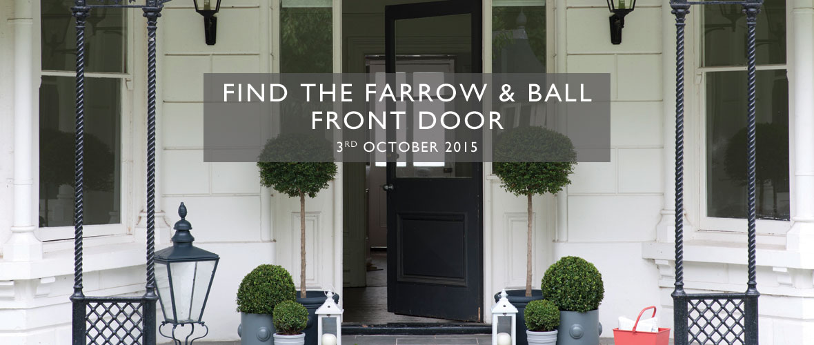 Sponsored post check out the find the farrow ball front Farrow and ball exterior door paint