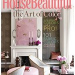 Artwork from the Cover of September 2011 House Beautiful Magazine