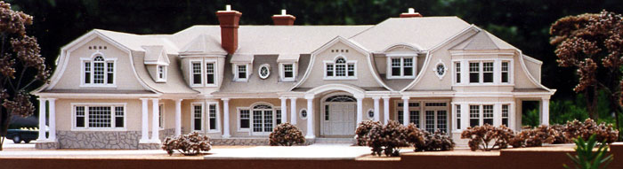 Building Architectural Models architectural model-making & modern dollhouses   the well