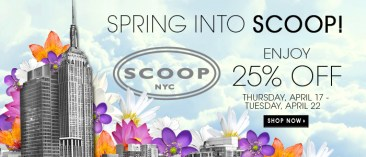 Easter Sale Coupons: Loft 40% OFF, Sweaty Betty 20% OFF, Scoop NYC 25% OFF