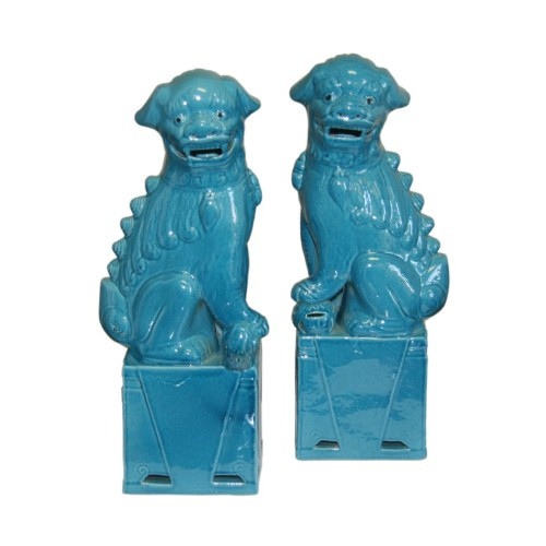 sitting-foo-dog-pair-turquoise-porcelain
