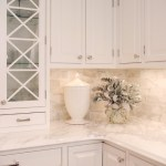 Calcutta Gold Marble in Five Kitchens We Love