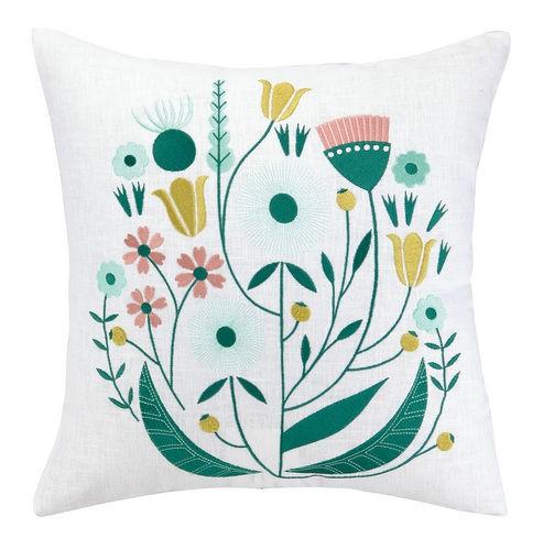 whimsical-flower-pillow