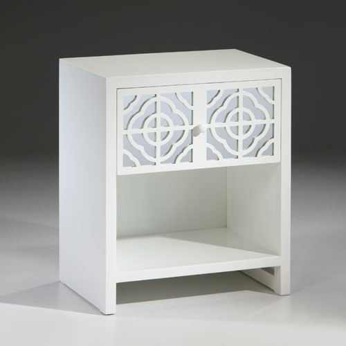 white_lacquer_one_drawer_end_table