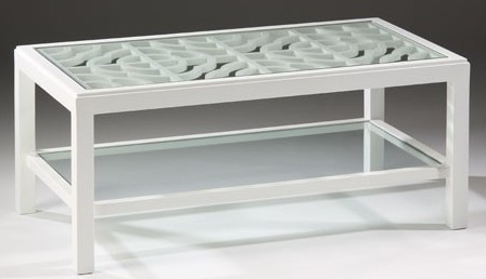 white_lacquer_rectangular_coffee_table
