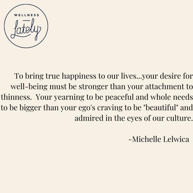 Michelle Lelwica Quote |