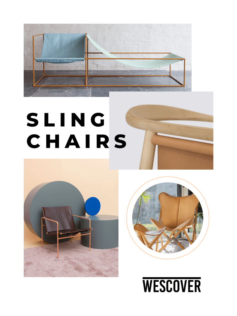 Sling Chairs A Playful Take On Simple Forms Wescover Features