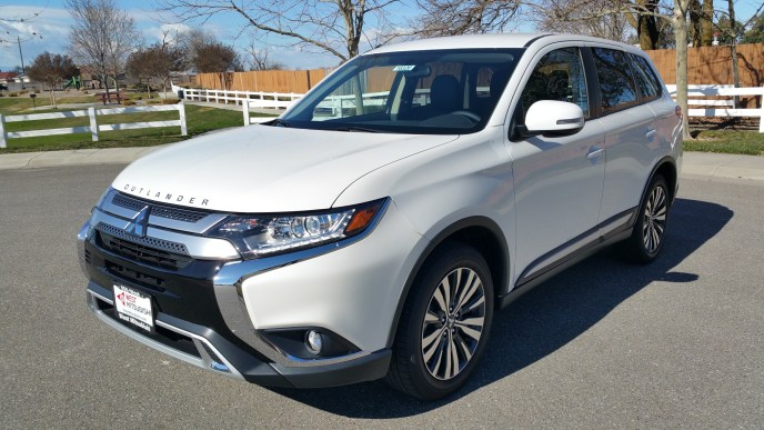 The 2019 Mitsubishi Outlander Beats Subaru Forester, Toyota RAV4, Honda CRV
