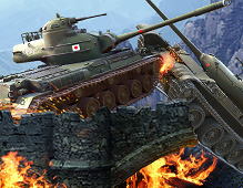 World Of Tanks — Bridge Battle