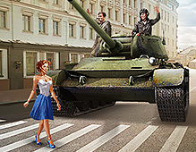 World Of Tanks — Pin Up