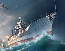 World Of Warships — OBT Keyart