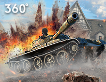 World Of Tanks — Video 360°