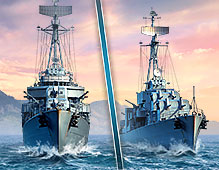 World Of Warships — Pan Asia Destroyers