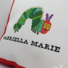 Gabriella Marie Personalized Caterpillar Pillow