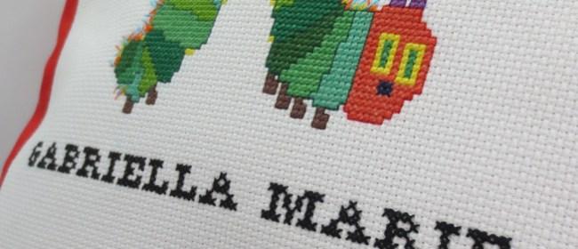 Gabriella Marie Personalized Caterpillar Pillow